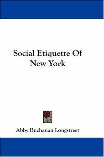Social Etiquette Of New York