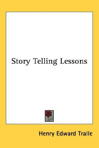 Story Telling Lessons