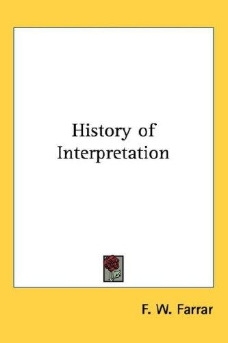 History of Interpretation