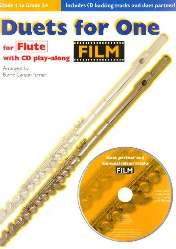Duets for One for Flute by Barrie Carson Turner