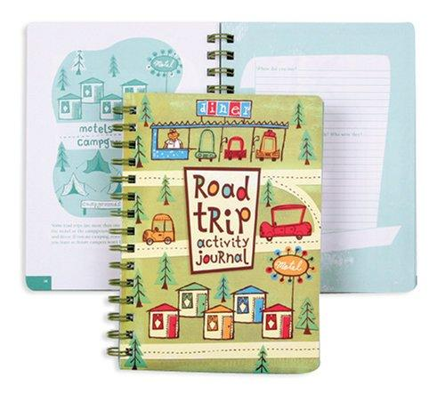 Road Trip Activity Journal by Galison/Mudpuppy