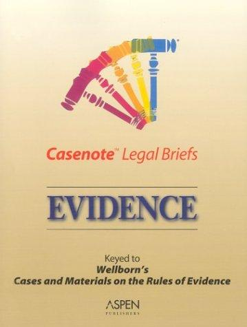 Casenote Legal Briefs by Aspen Publishers