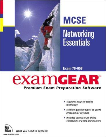 Networking Essentials McSe Examgear (New Riders Exam Gear) by New Riders Development
