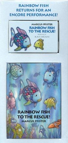Rainbow Fish to the Rescue Mini-Book and Audio Package by M. Pfister