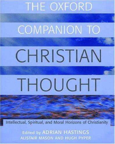 The Oxford companion to Christian thought by Adrian Hastings, Church In Africa1450-1950, Alistair Mason, Hugh S. Pyper