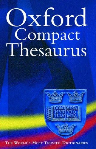 Oxford Compact Thesaurus by Maurice Waite