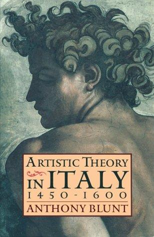 Artistic Theory in Italy by Anthony Blunt