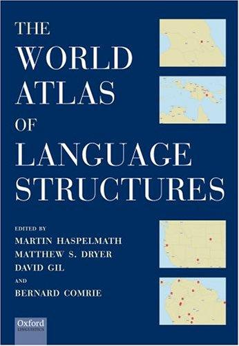 The world atlas of language structures by