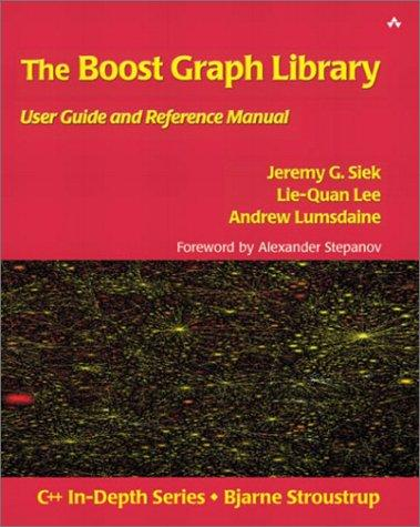 The boost graph library by