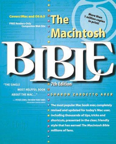 The Macintosh bible by Sharon Zardetto Aker