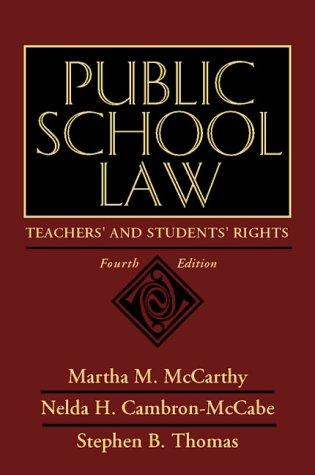 Public school law by Martha M. McCarthy