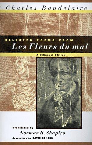 Selected poems from Les fleurs du mal by Charles Baudelaire