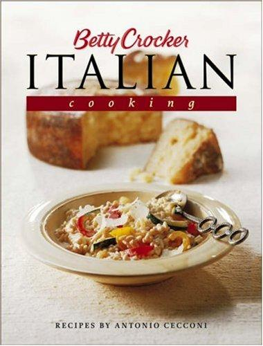 Image 0 of Betty Crocker's Italian Cooking