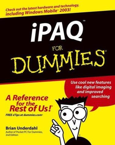 iPAQ for dummies by