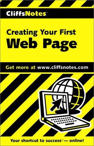 Creating Your First Web Page by Alan Simpson, Simpson, Alan