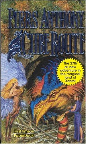 Cube Route (Xanth) by Piers Anthony