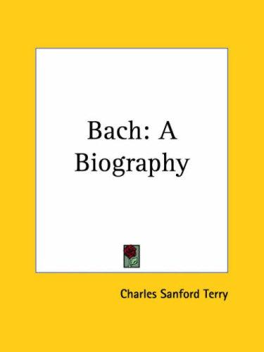 Bach by Terry Charles Sanford
