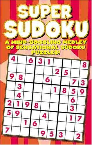 Super Sudoku Puzzle Book by Modern Publishing