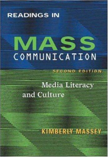 Readings in Mass Communications by Kimberley Massey