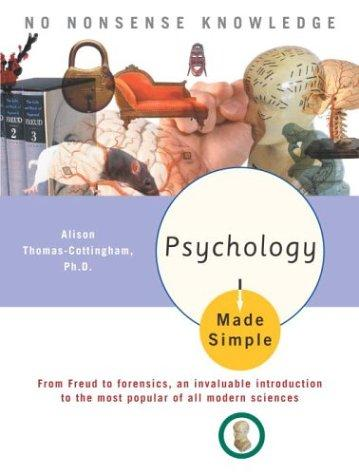 Psychology Made Simple by Alison Phd Thomas-Cottingham