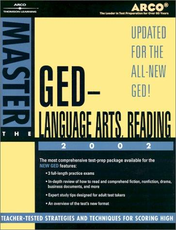 Master the GED Language Arts, Reading 02 by Arco
