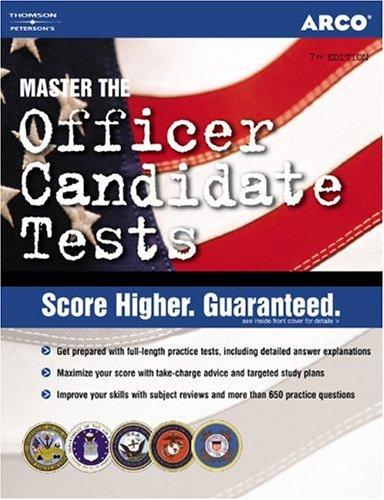 Officer Candidate, 7th edition by Weiner & Ostrow