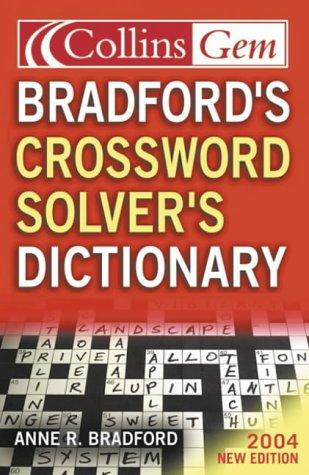Bradford's Crossword Solver's Dictionary (Collins GEM)