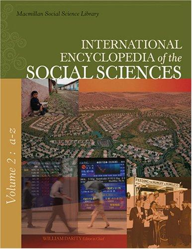 International Encyclopedia of the Social Sciences (9 vol. set) (International Encyclopedia of the Social Sciences) by William A. Darity