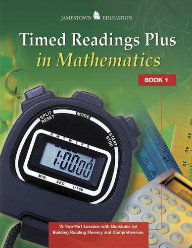 Timed Readings Plus in Mathematics by McGraw-Hill - Jamestown Education