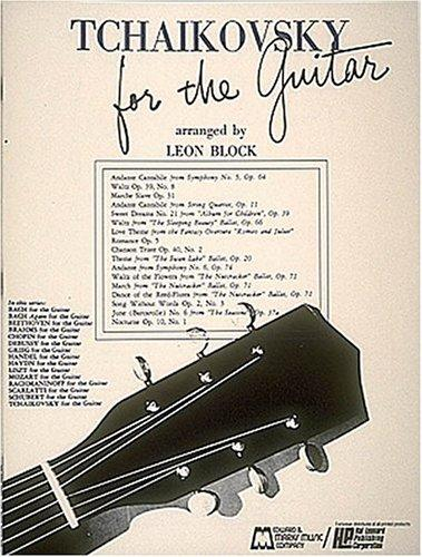 Tchaikovsky for Guitar by Leon Block