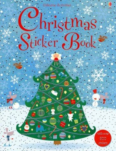 Christmas Sticker Book by Lucy Bowman