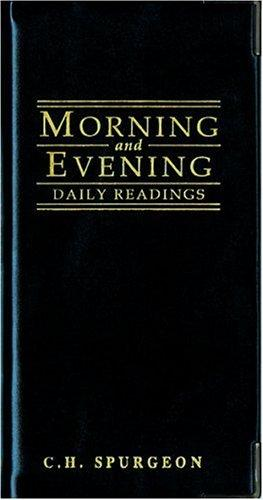 Morning & Evening (shiny black) by Spurgeon, Charles Haddon