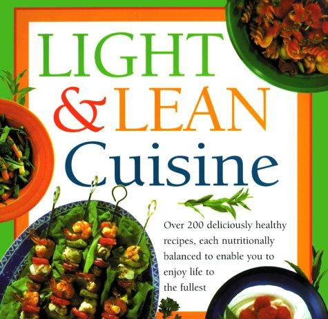 Light and Lean Cuisine by Anne Sheasby