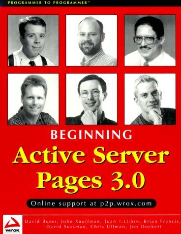 Beginning Active Server Pages 3.0 by Jon Duckett