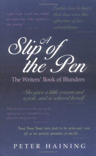 A slip of the pen by Peter Høeg