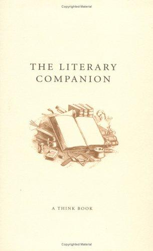The Literary Companion (Think Books) by Jones Emma Staff