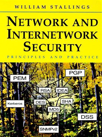 Network and internetwork security by William Stallings