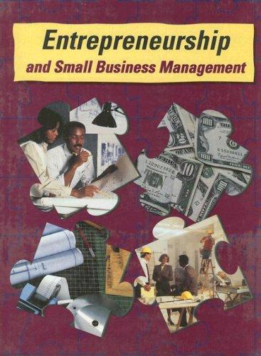 Entrepreneurship and Small Business Management by McGraw-Hill
