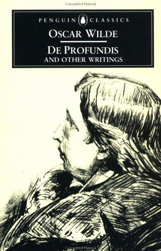 De Profundis and Other Writings by Oscar Wilde