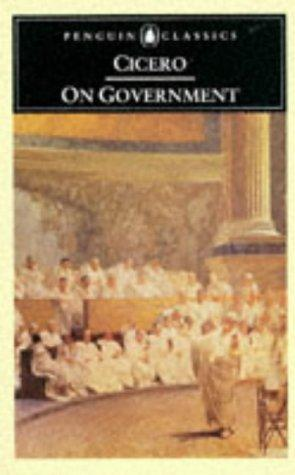 On government by Cicero