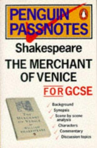Passnotes:The Merchant of Venice (Passnotes) by Millson