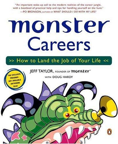 Monster Careers by Jeff; Hardy, Doug Taylor