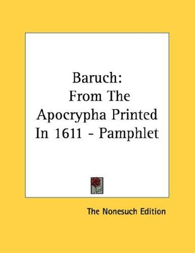 Baruch by The Nonesuch Edition