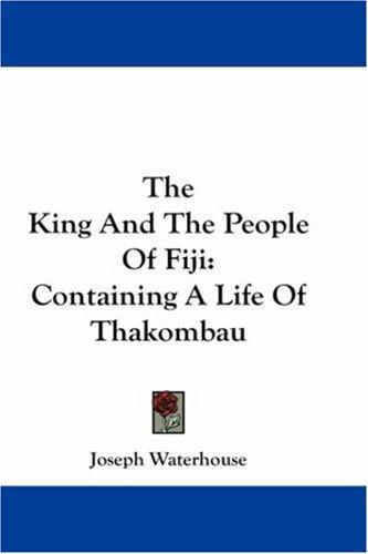 The King And The People Of Fiji