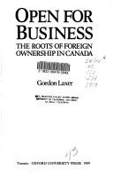 Open for business by Gordon Laxer