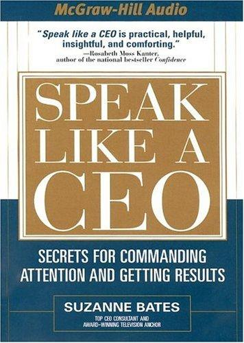 Speak Like a CEO