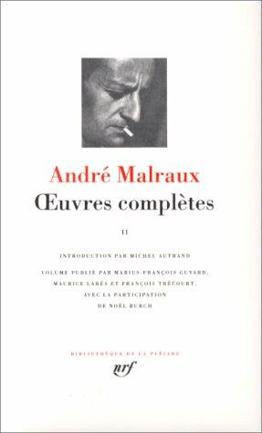 Euvres completes by André Malraux