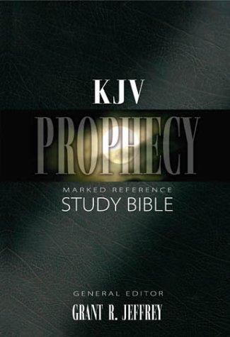 KJV Prophecy Marked Reference Study Bible Indexed