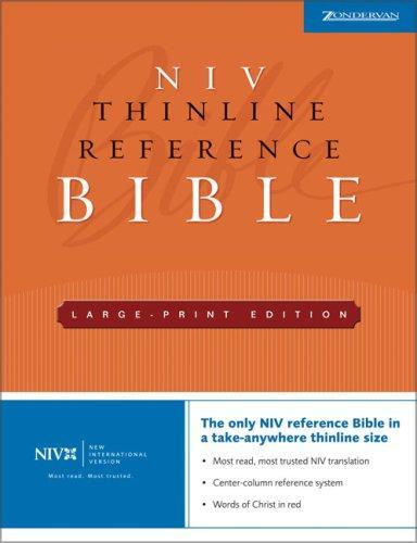 NIV Thinline Reference Large Print Bible (New International Version)
