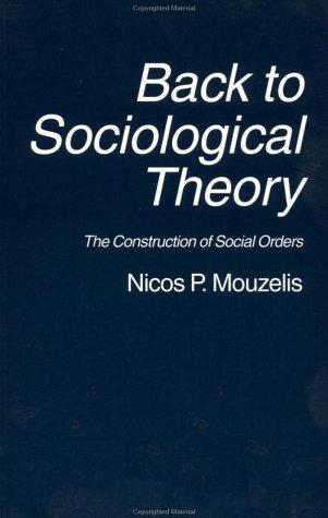 Back To Sociological Theory